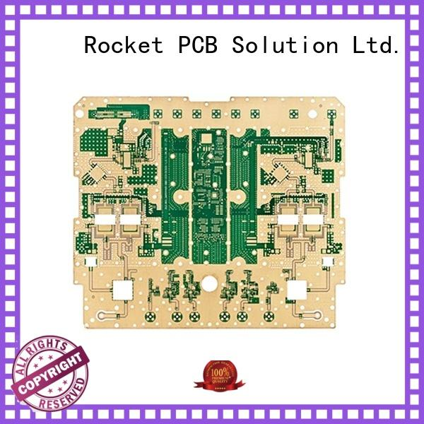 Rocket PCB high frequency rf pcb factory price industrial usage