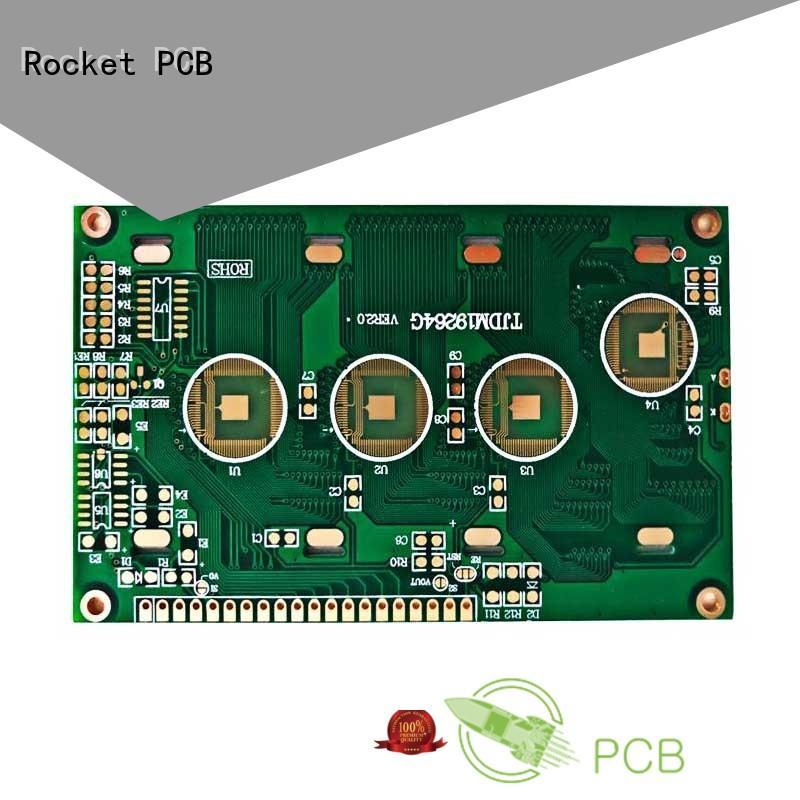 Rocket PCB finished wire bonding technology bulk fabrication for electronics
