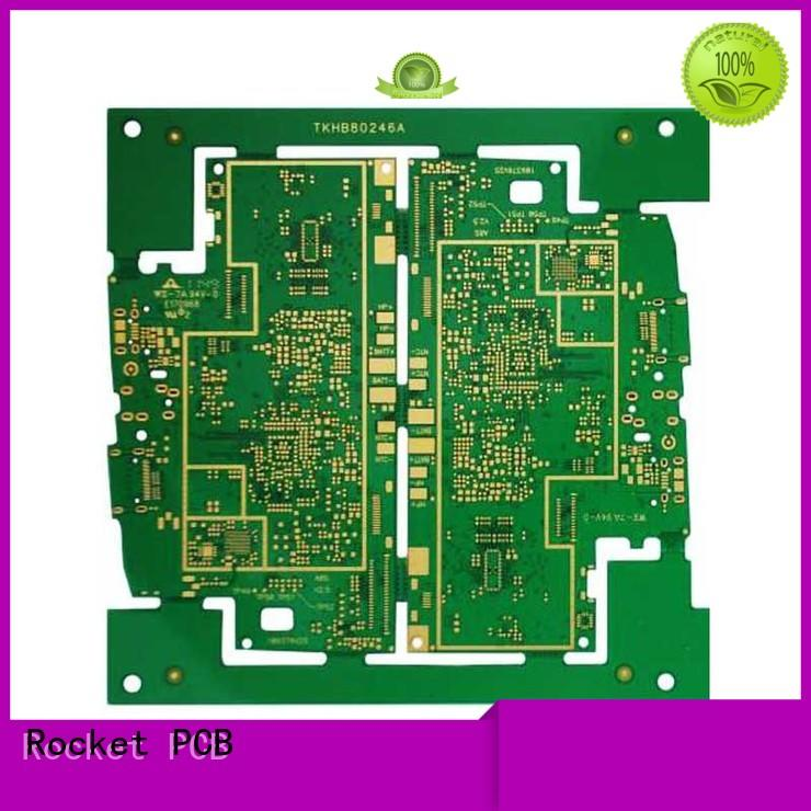 customized pcb circuit board laser hole interior electronics Rocket PCB