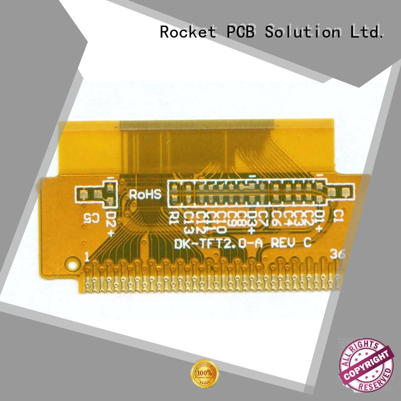 Rocket PCB multilayer flex pcb cover-lay for electronics