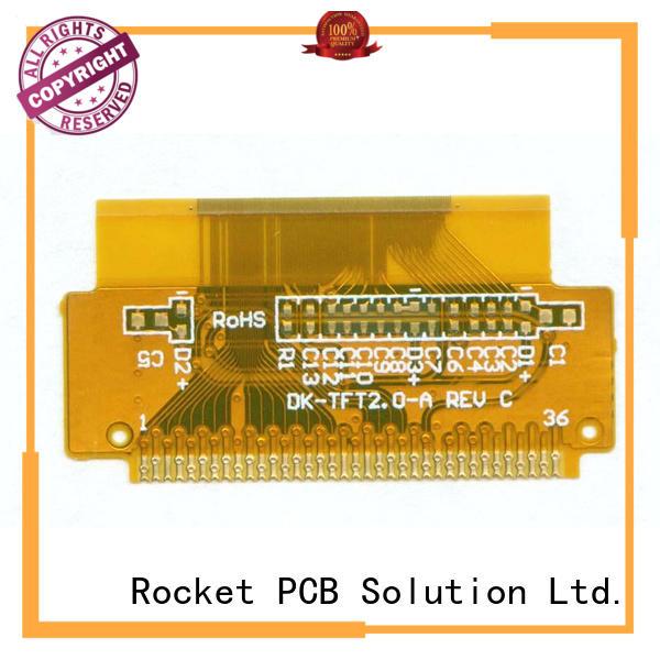 multi-layer flexible printed circuit boards flex medical electronics Rocket PCB