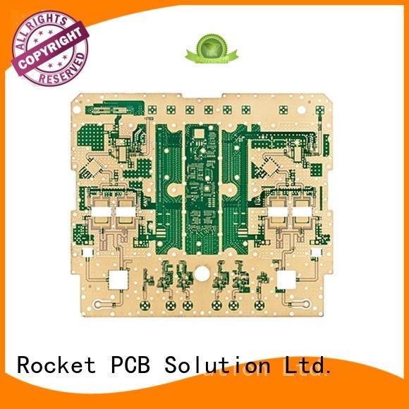 hybrid RF PCB production process instrumentation Rocket PCB