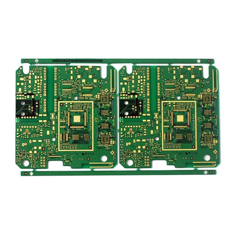 High multilayer anylayer HDI PCB stacked and stagged mircovias