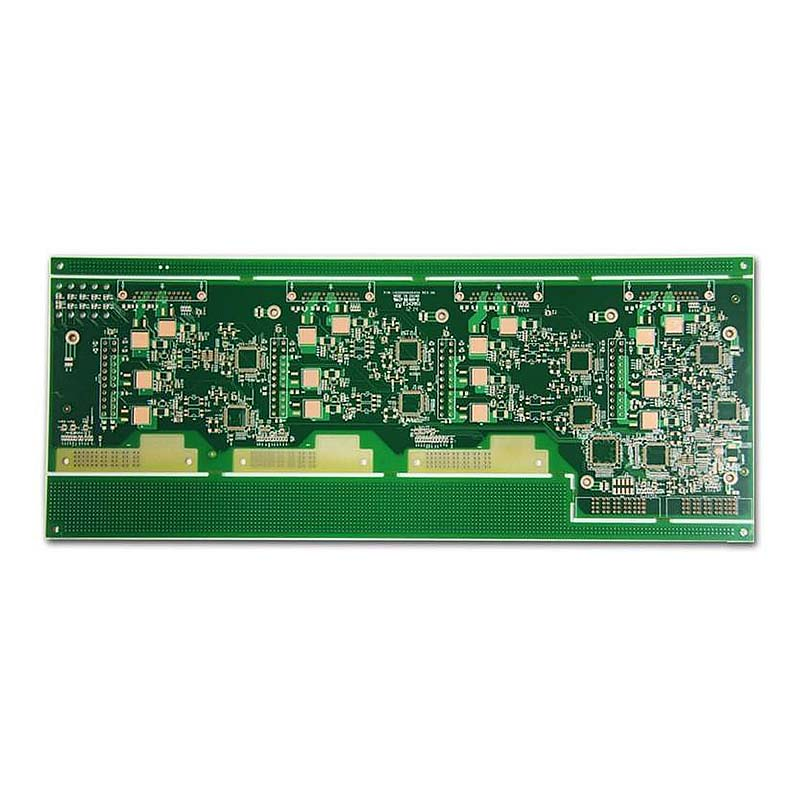 rigid high frequency PCB multilayer smart control for wholesale-7