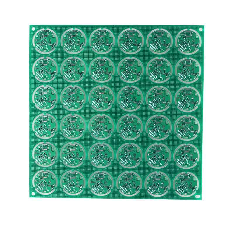 prototyping single sided printed circuit board electronics Rocket PCB