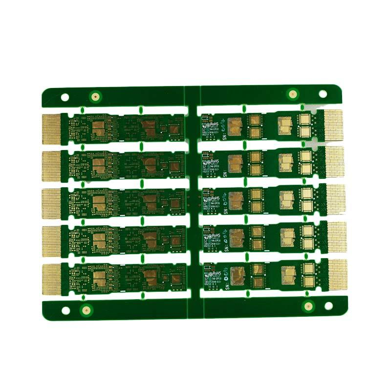 Rocket PCB plated gold column staged for wholesale-2