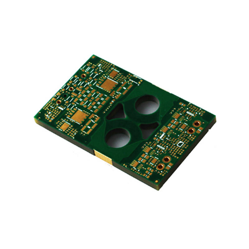 Rocket PCB thick printed circuit board assembly for electronics