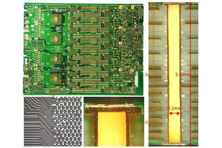 VIPPO PCB,Via-in-pad plated over, POFV PCB