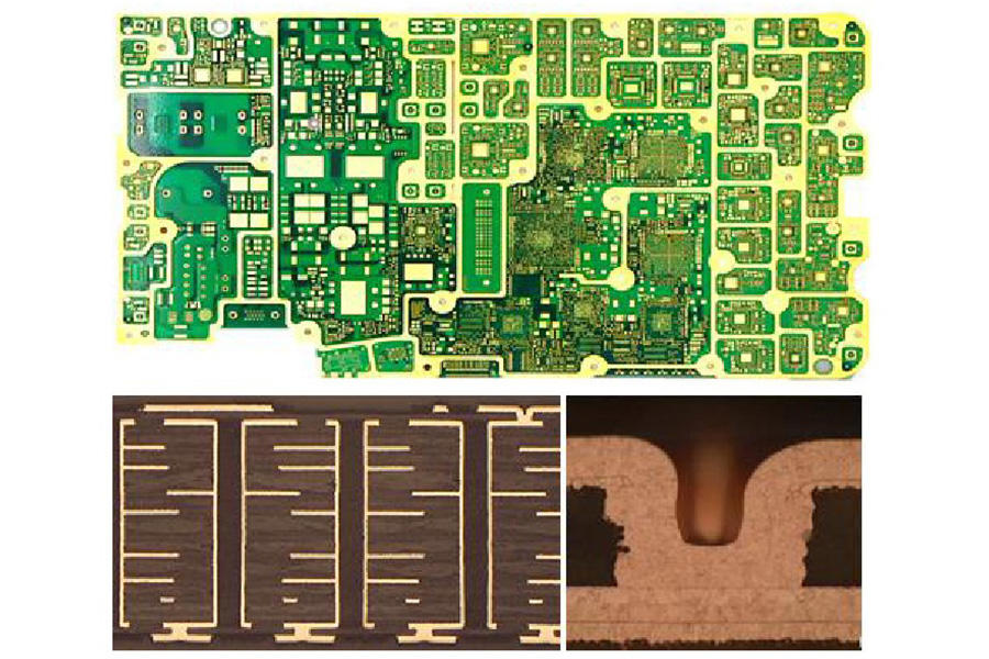 High multilayer HDI PCB
