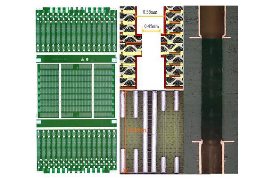 Dual-drill printed circuit board
