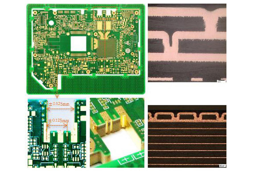 M6 HDI, HDI PCB with M6 (R5775) material