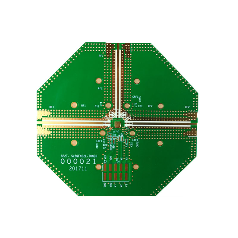 hybrid high frequency pcb board frequency rogers for electronics-1