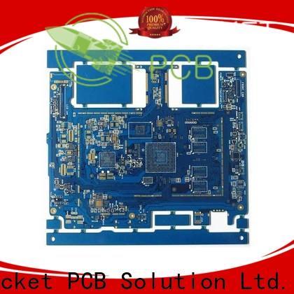 Rocket PCB HDI PCB maker laser hole wide usage