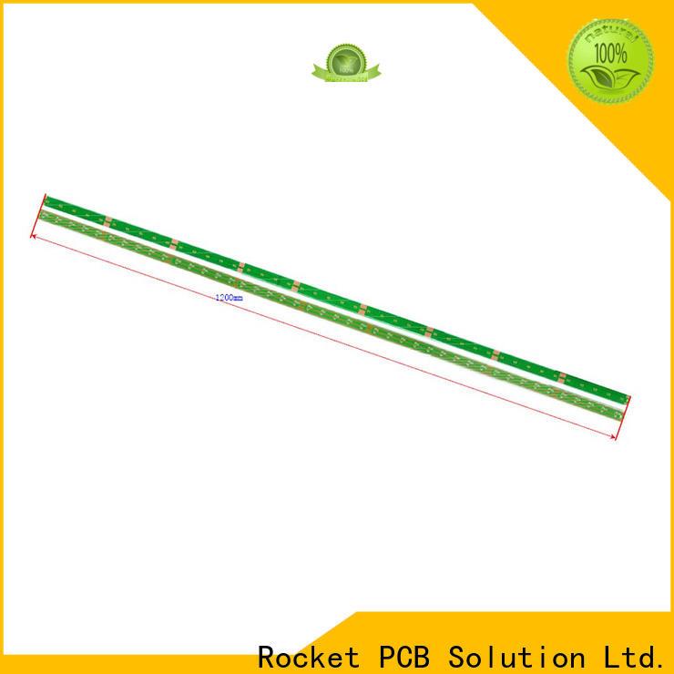Rocket PCB long big pcb smart house control