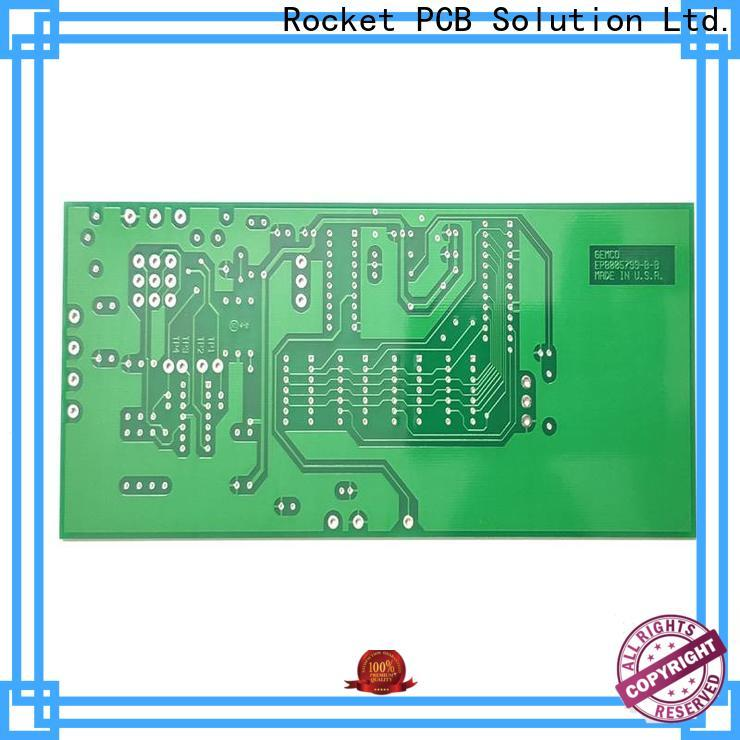Rocket PCB diy double sided pcb consumer security