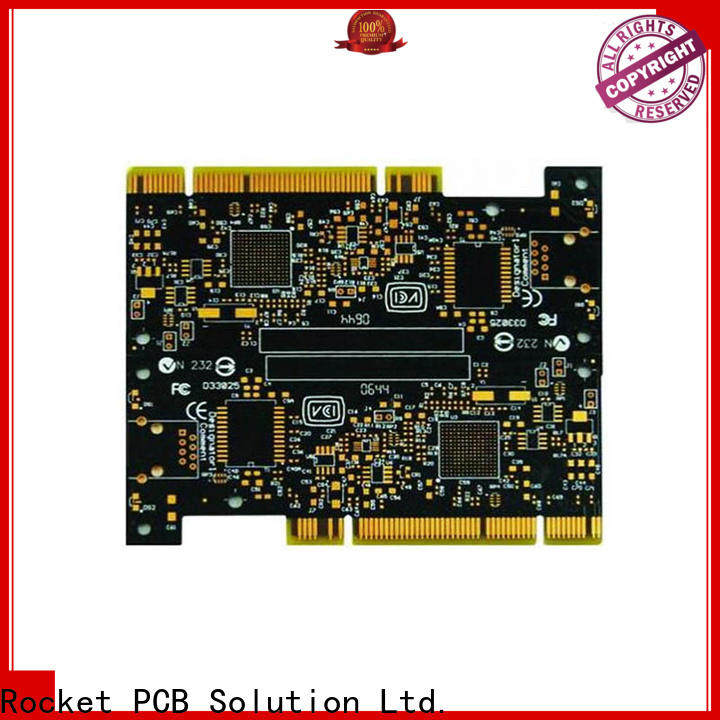Rocket PCB at discount gold bonding finger pcb connector for wholesale