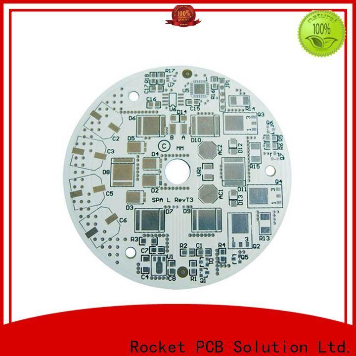 Rocket PCB base aluminum pcb light-weight for digital device