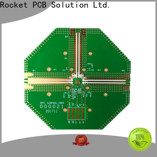 Rocket PCB hot-sale rf applications rogers for digital product
