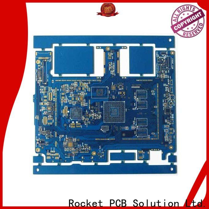 Rocket PCB hole HDI PCB maker prototype interior electronics