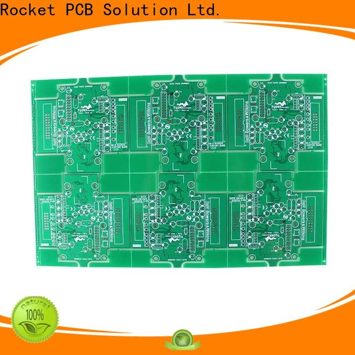 Rocket PCB double single sided pcb consumer security