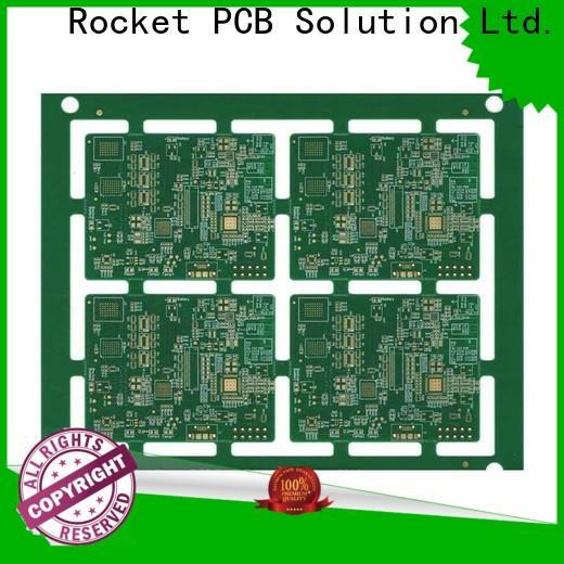 Rocket PCB prototype fr4 circuit board density interior electronics