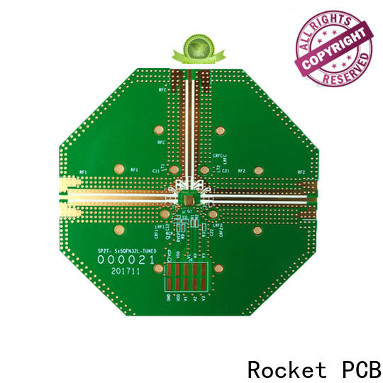 Rocket PCB mixed rf applications rogers for electronics