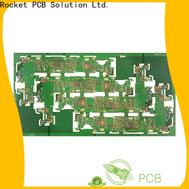 Rocket PCB stagger custom circuit board manufacturers precision