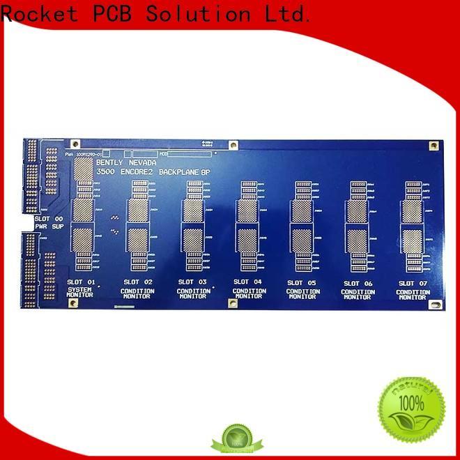 Rocket PCB board Backplane PCB fabrication at discount