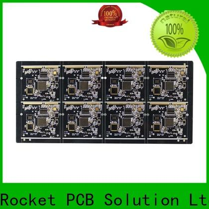 Rocket PCB plated gold column pcb for wholesale