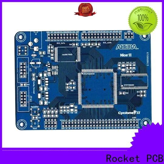 prototyping double sided printed circuit board custom turn around consumer security