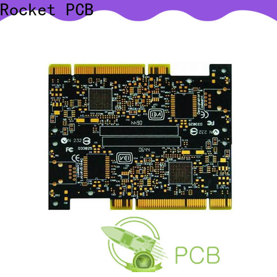 Rocket PCB professional gold finger pcb fingers for import
