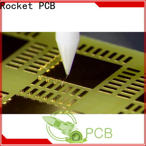 Rocket PCB gold wire bonding services bulk fabrication for digital device