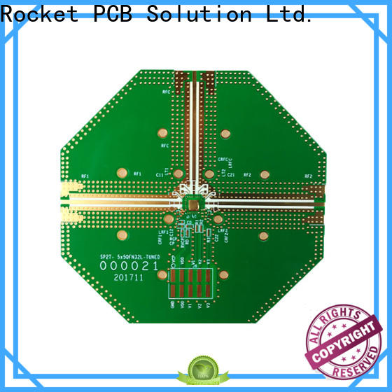 Rocket PCB hybrid circuit board material for electronics