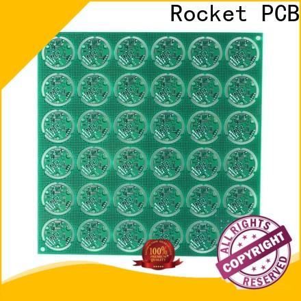 Rocket PCB single sided circuit board consumer security