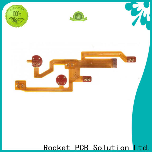 Rocket PCB multilayer flexible pcb cover-lay for automotive