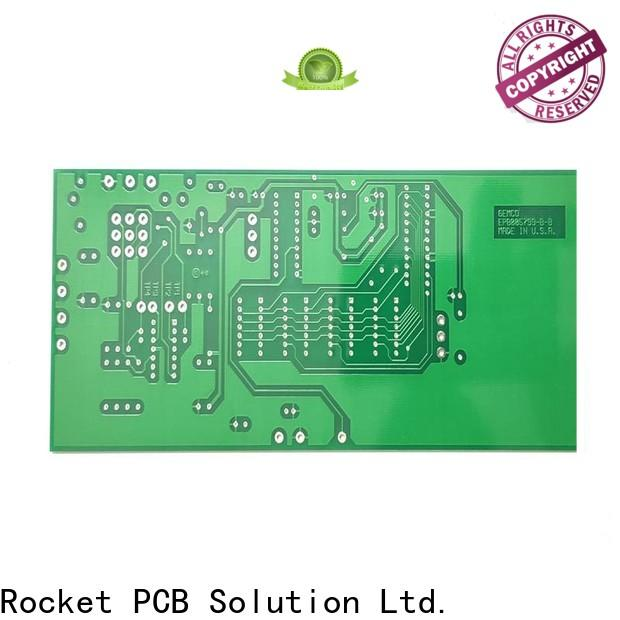 Rocket PCB double double sided printed circuit board turn around electronics