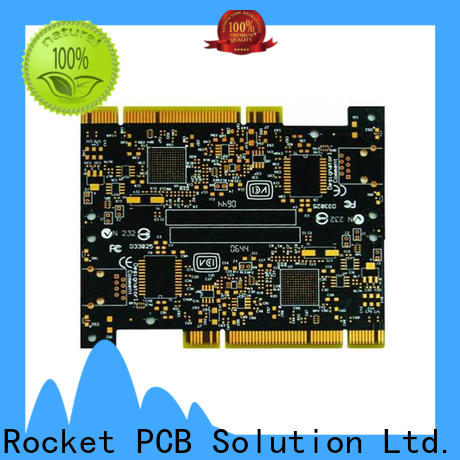 Rocket PCB professional gold column plating for wholesale