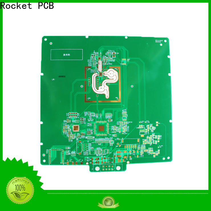 Rocket PCB mixed rogers pcb structure for electronics