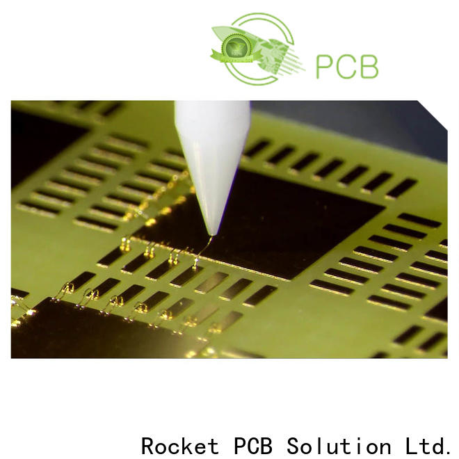 Rocket PCB professional aluminum wire bonding process surface finished for digital device