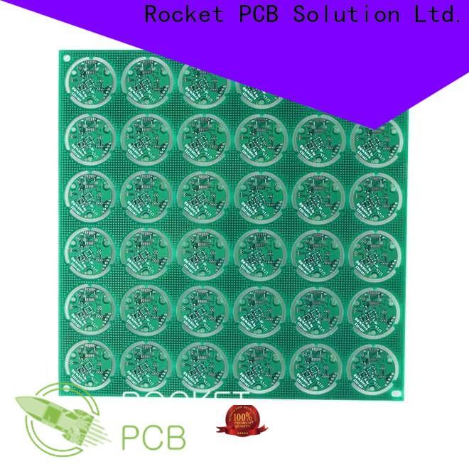 Rocket PCB custom single sided printed circuit board sided digital device