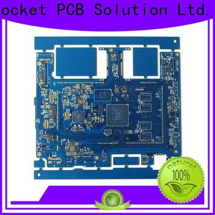 free sample HDI PCB maker hole laser hole wide usage