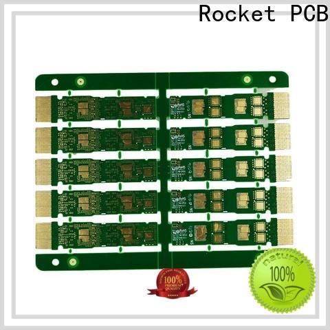 Rocket PCB gold gold column pcb for wholesale