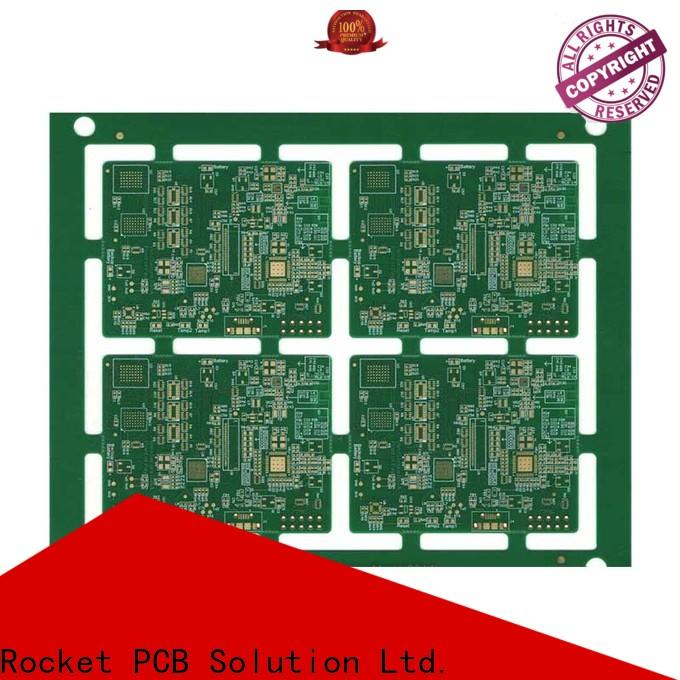 Rocket PCB manufacturing pcb circuit board laser hole at discount