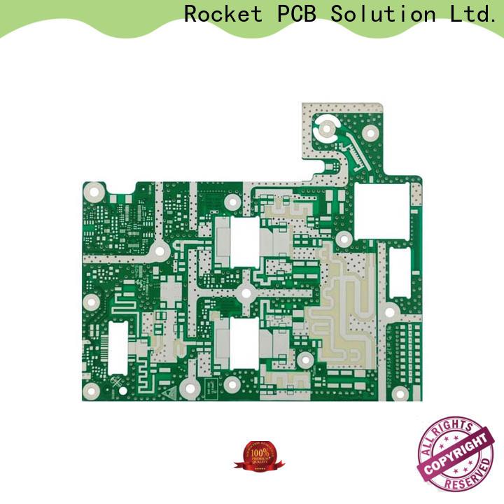 Rocket PCB board microwave PCB production bulk production instrumentation
