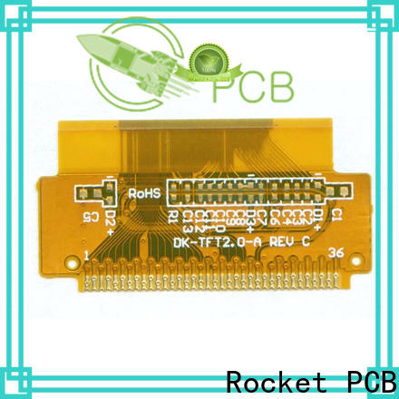 Rocket PCB multi-layer flexible printed circuit cover-lay for automotive