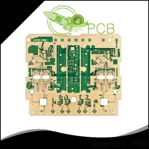 Rocket PCB speed microwave PCB production bulk production industrial usage