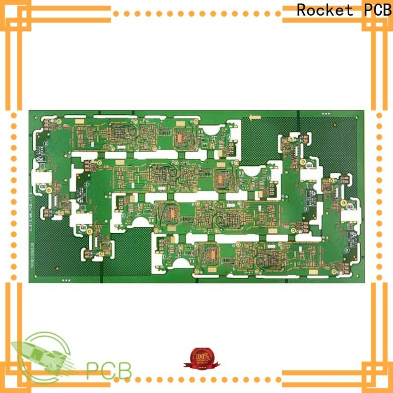 Rocket PCB stacked dual layer pcb fabrication for wholesale
