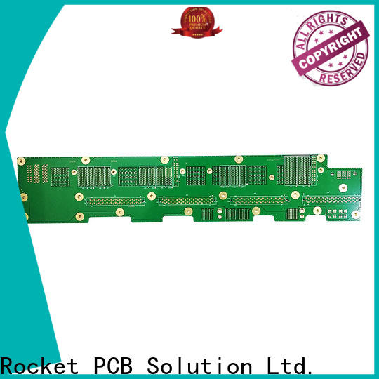 Rocket PCB multi-layer high speed backplane fabrication for auto