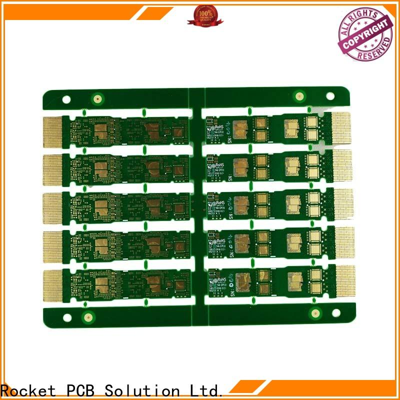 Rocket PCB highly-rated gold column finger for wholesale