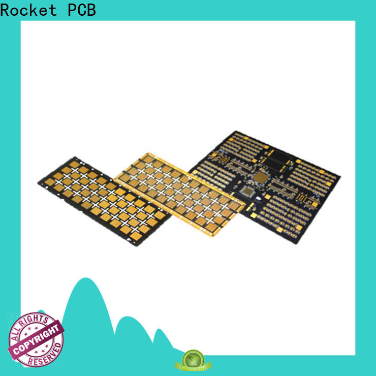 Rocket PCB base aluminum circuit board light-weight for equipment